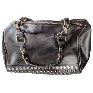 Express Vintage Handbag, Black Gem, Studs Purse